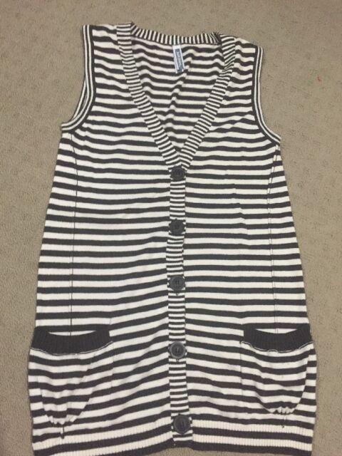 Ladies JEANSWEST  Vest. Size Small Cardigan