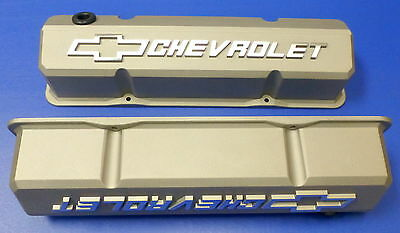 Proform 141-925 Chevy SB Performance Slant Edge Cast Aluminum Valve Covers