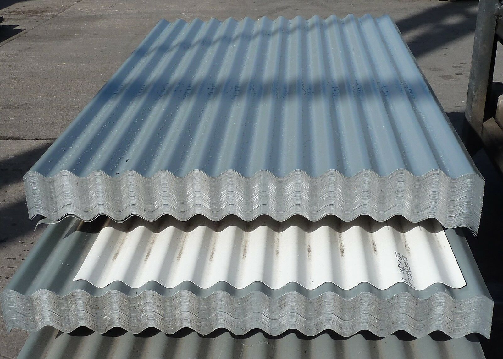 Corrugated Roofing Sheets Merlin Grey Pvc Coated Metal