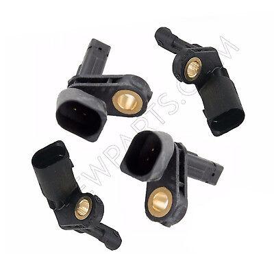 For Audi A3 TT VW CC Eos Pair Front Left /& Right ABS Wheel Speed Sensors Meyle