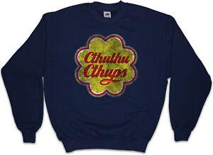 CTHULHU-CTHUPS-Sweatshirt-Pullover-Wars-Horror-Arkham-H-P-Lovecraft-Miskatonic
