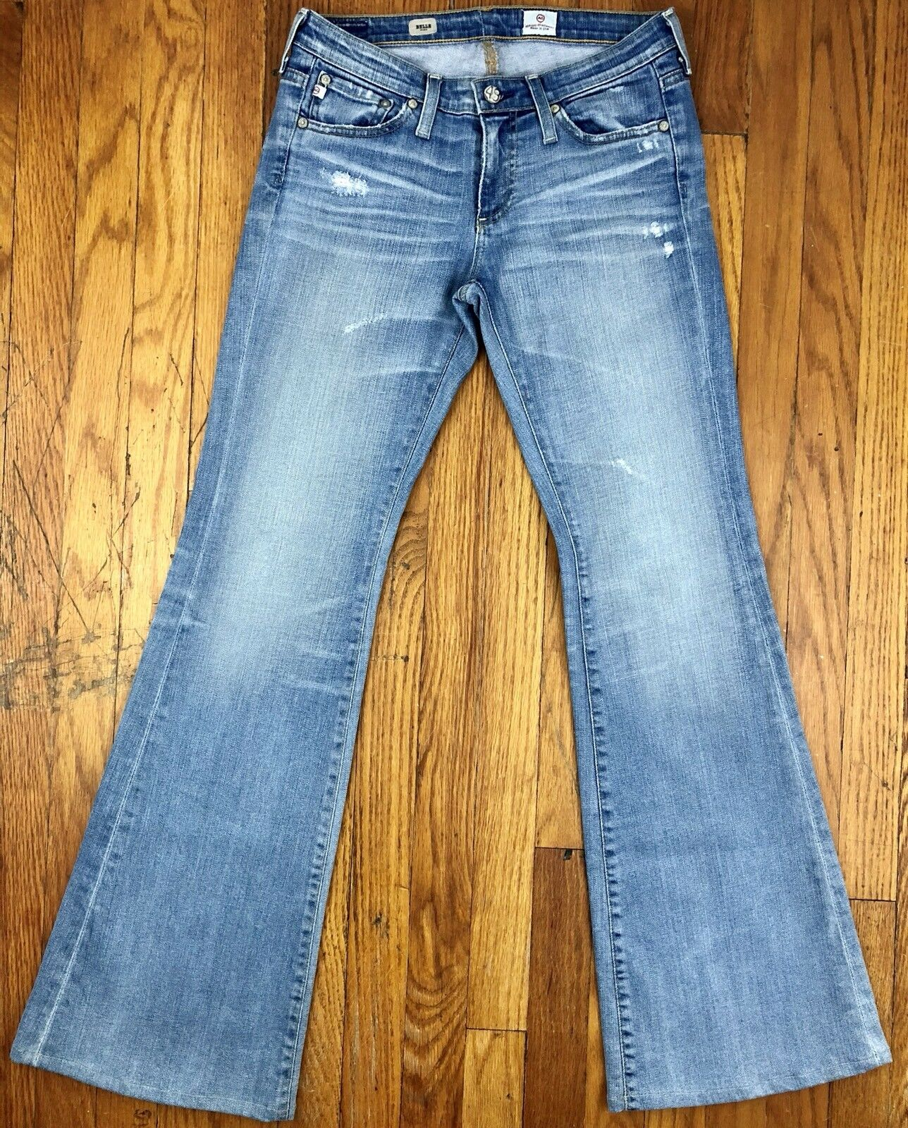 AG Adriano goldschmied Belle Flare Womens Jeans Tag Size 26R Actual 29x31.5