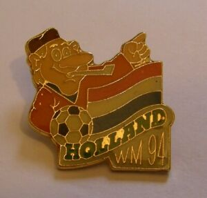 WORLD-CUP-94-USA-SOCCER-NETHERLANDS-Limited-Edition-500-vintage-pin-badge-Z8J