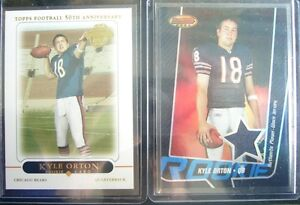 huge selection of 896ef c6c0e Details about 2x RC Kyle ORTON #d/299 Bowman Best JERSEY Rookie & Topps  #428 QB Buffalo BILLS