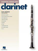 Essential Songs For Clarinet Instrumental Folio Book 000842271
