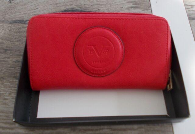 03bcc9e8c5 Versace 1969 Abbigliamento SPORTIVO Coral Embossed Wallet