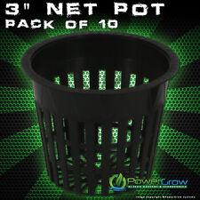 """3"""" INCH NET POTS - MESH CUPS (QTY 10) Heavy Duty Net Pots"""