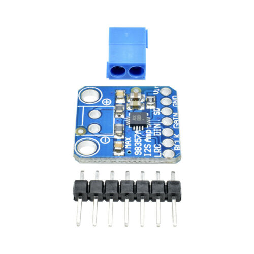 MAX98357 Amplifier Breakout Interface I2S Class D Module For ESP32 Raspberry Pi