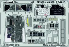 Eduard Zoom FE1027 1//48 Fairchild A-10C ceintures de sécurité en acier ITALERI