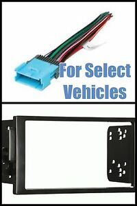 double din car stereo radio install mount kit combo for. Black Bedroom Furniture Sets. Home Design Ideas