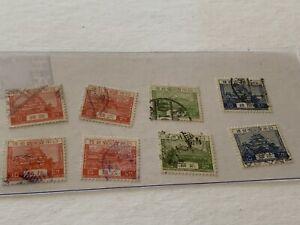 1926-37-Japan-Stamp-Lot-MA17