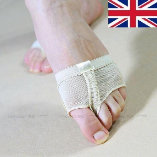 New Reino Unido stock Niña Dama Pie Tanga Ballet//lírica Dancewear zapatos talla 3-8.5