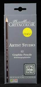 12-Piece-Graphite-Drawing-Set-NEW-Artist-Quality-Pencils-Made-by-Cretacolor