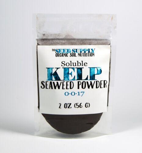 2 Ounces Soluble Kelp Seaweed Powder Plant Growth Stimulant Organic Fertilizer