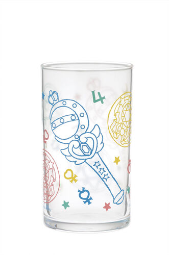 Sailor Moon Transformation Wand Glass Cup Ichiban Kuji E Prize Anime Mug NEW