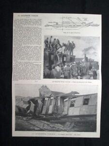 La-Catastrofe-d-039-Arleux-in-Francia-Stampa-del-1902