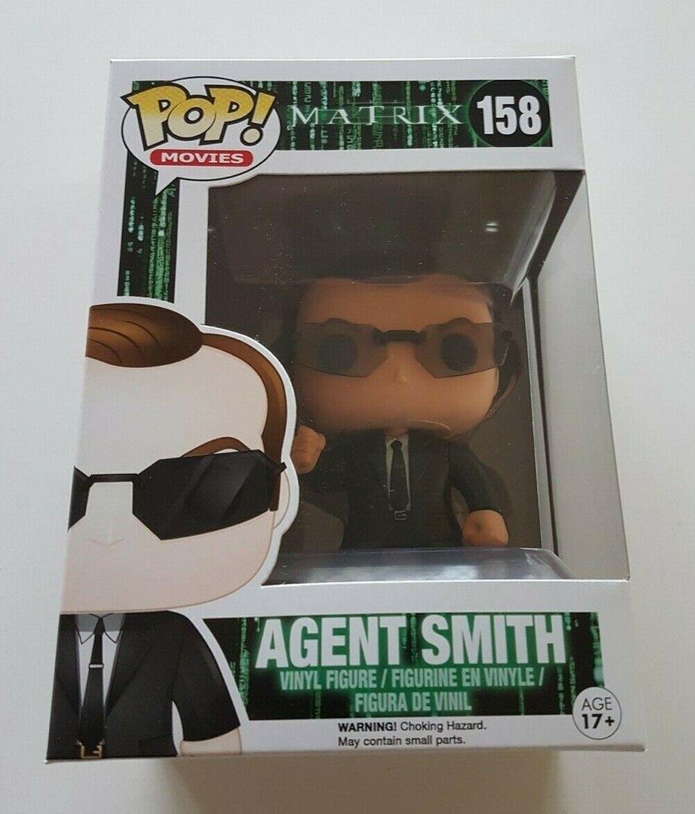 Funko Pop Movies 158 The Matrix Agent Smith