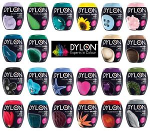 Dylon-350g-Machine-Dye-Pods-Fabric-Dyes-Permanent-Textile-Cloth-Wash-Select-Col