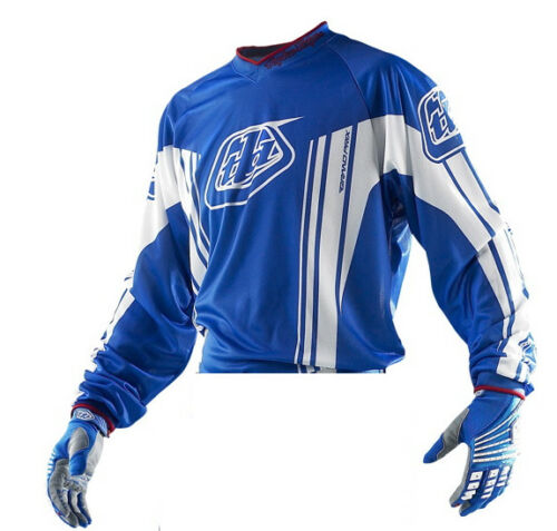 Troy Lee Designs GP YOUTH MX Off Road JERSEY Blue NEW BOYS X-LARGE
