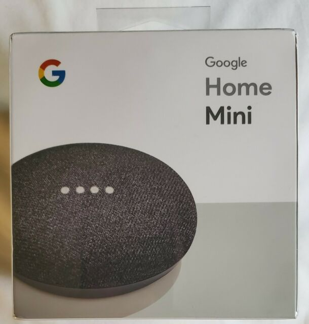 Google Home Mini Smart Assistant Charcoal Ga00216 Us For Sale Online Ebay