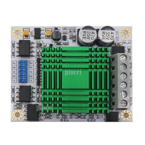 New 60A High Power MOS Dual Channel H-bridge DC Motor Driver Module