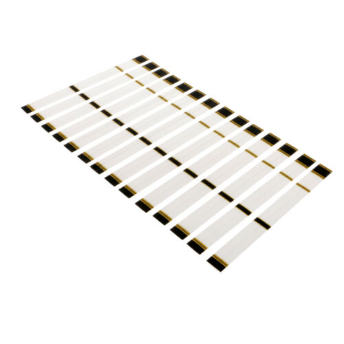 30pcs White 19.5 x 2cm Archery Arrow Shaft Stickers Wraps Heat Shrinkable