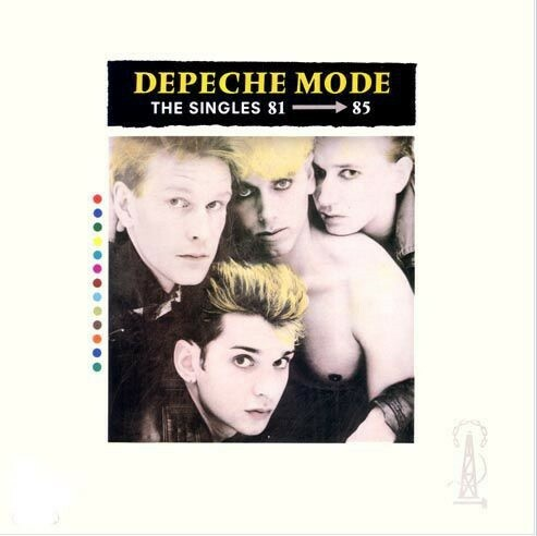 LP, Depeche mode, The Singles 81 - 85, Pop, Depeche Mode -…