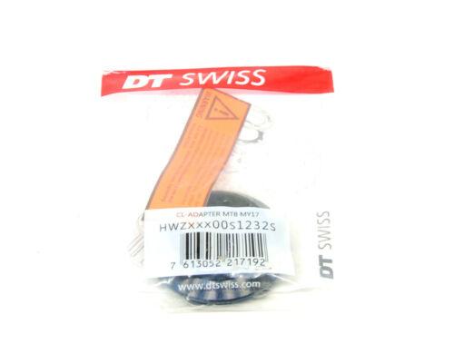 DT Swiss Center Lock to 6-Bolt Disc Adaptor