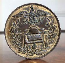 Napoleon Bonaparte. A Large Historical Bronze Centenary Medal, 1769-1869. 50mm.