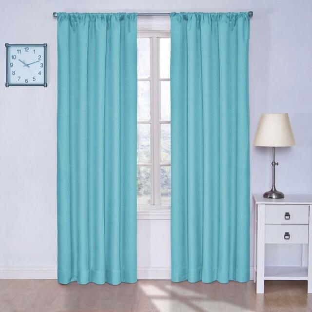 Eclipse Kendall Blackout Kids Bedroom Curtain Panel