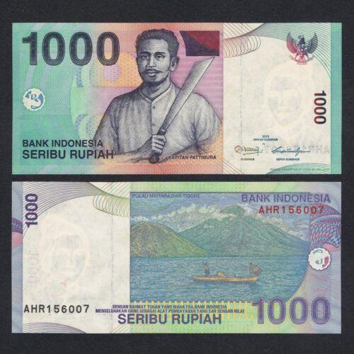2013 INDONESIA 1,000 1000 RUPIAH P-141 UNC LOT 10 PCS/> /> /> /> />CAPTAIN PATTIMURA