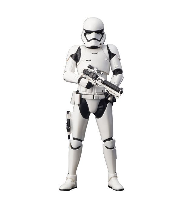 Star Wars FIRST ORDER STORMTROOPER ARTFX 1/10 Scale Scale Scale Pre Painted Model Kit 4240f5