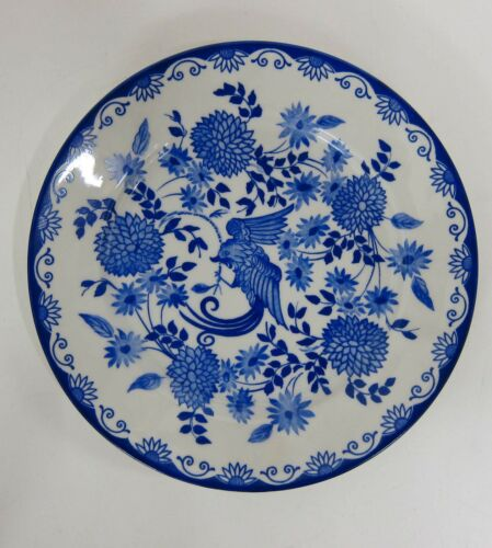 Kuchenteller Rosenthal Else Blaue Stunde Blauer Paradiesvogel Teller 19,5 cm