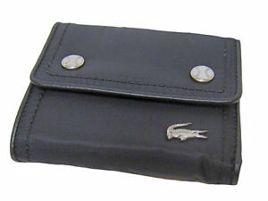 5b0bc78c55c Image is loading New-Authentic-Vintage-LACOSTE-Ladies-PURSE-WALLET-Croc-