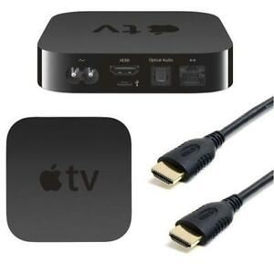 1.8M HDMI TO HDMI 24K GOLD PLATED V1.4 CABLE LEAD FOR APPLE TV - ALL MODELS