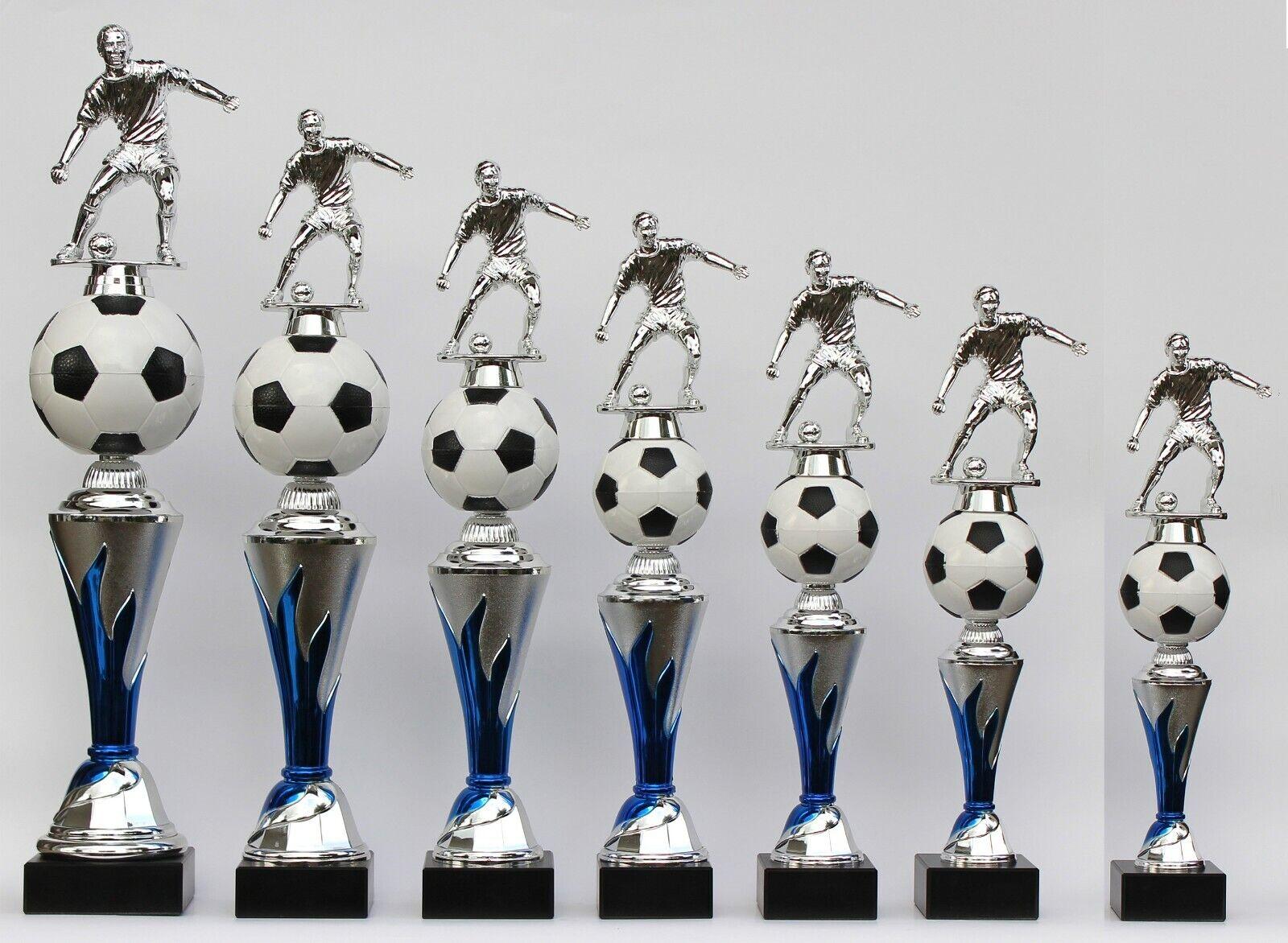 7er-serie trofeo trofeos fútbol figuras también con damas  on fire  incl. gravures