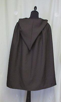 Il Signore degli Anelli-UK Made Marrone con cappuccio Cape//Mantella-Halloween-HOBBIT-Skywalker