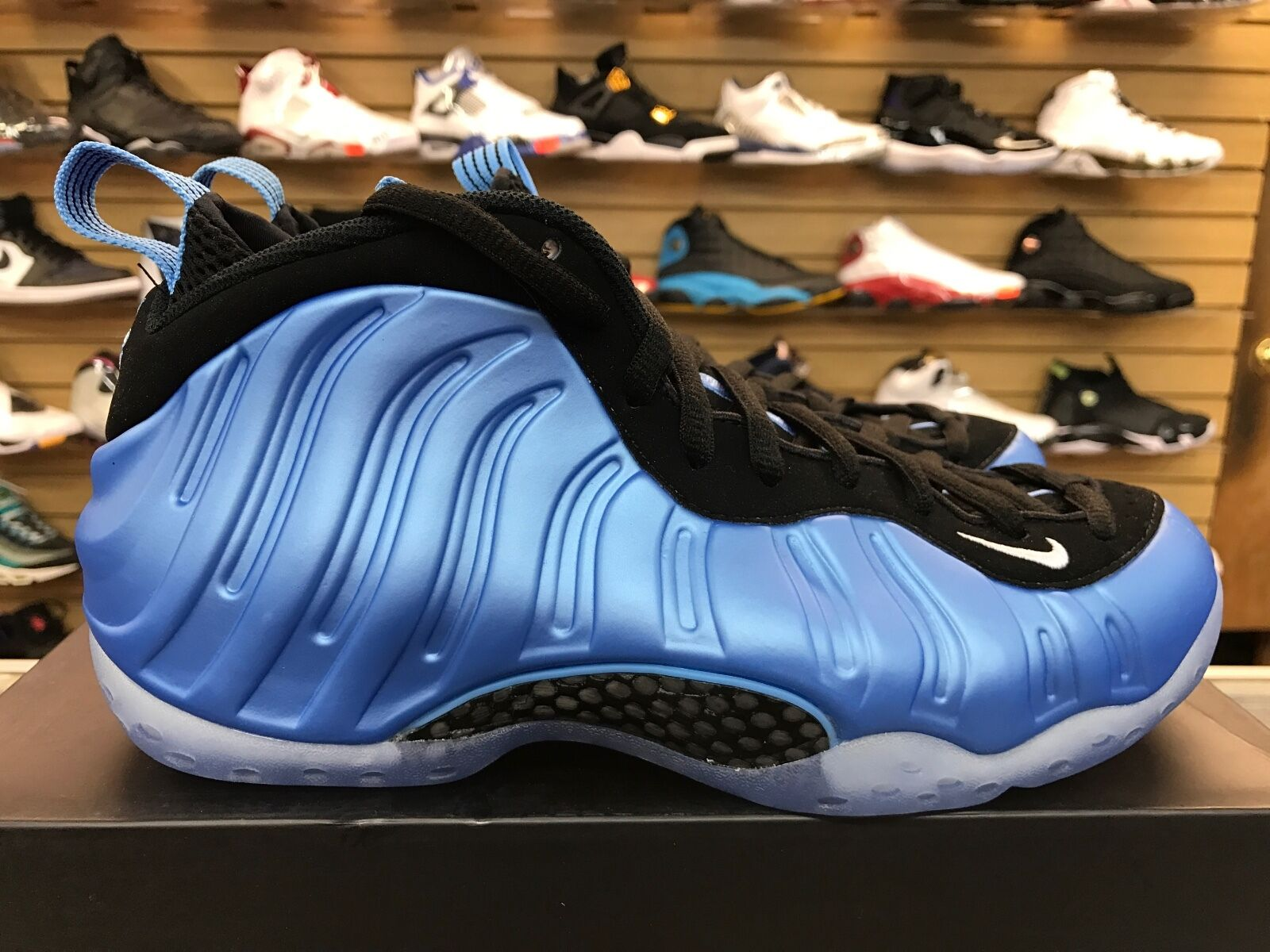 Nike Air Foamposite one 'University Azul' Zapatos UNC 314996-402 Hombre Raros Zapatos Azul' casuales 100% autentico salvaje 06efcd