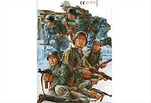 Tamiya Zubehör 12641 GMK World War II, Dekor Bogen Deutsche Abzeichen WWII