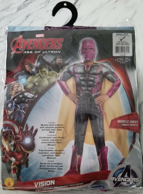 Marvel Avengers Age of Ultron-Ultron Costume 3-4 ans//8-10 ans