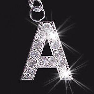 Intelligent Kristall Buchstabe Initialen A Bis Z Handy / Taschen Anhänger Kataloge Werden Auf Anfrage Verschickt