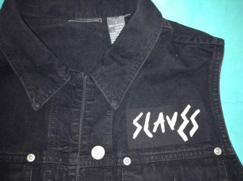 Hey Slaves Vest soddisfatto Girls off Cut Punk Cacciatore sei Gilet Denim wpwTq0