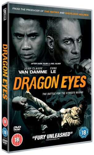 DRAGON EYES    DVD   BRAND NEW    CUNG LE  VAN DAMME