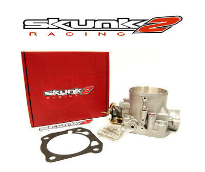SKUNK2 Throttle Body 66mm Alpha Civic CRX Del Sol Prelude Integra 309-05-1030