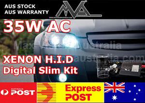35W H1 AC HID XENON KIT SLIMLINE Narva Ultima 225 SPOT DRIVING LIGHTS SUV 4X4