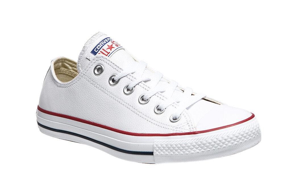 Converse All Star Chuck en cuir blanc 132173 C Hommes Chaussures