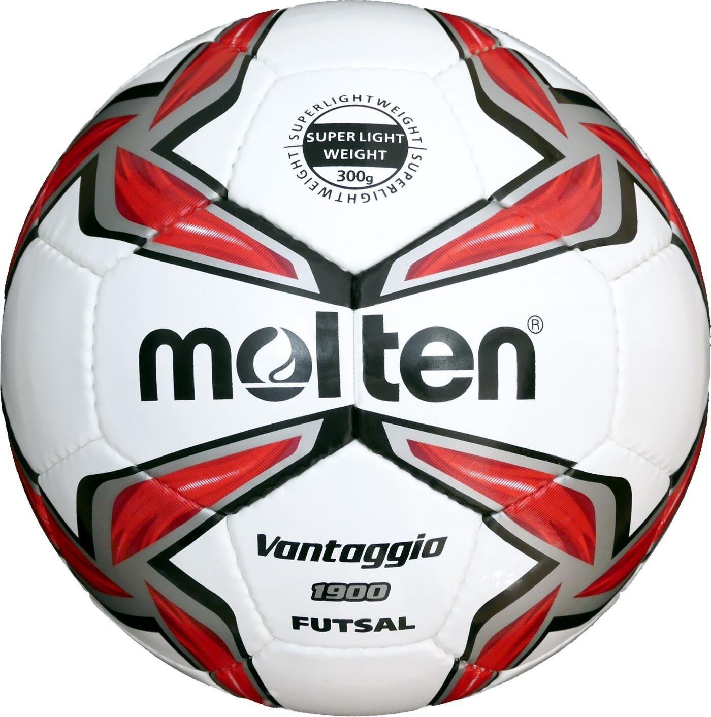10x Molten Futsalball F9V1900-LR Superleicht indoor Futsal 300g