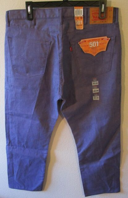 482ae79c03c3 NWT Levis 501 Mens Original Shrink-to-Fit Jeans 40x30 New Viking MSRP$69
