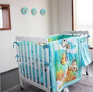 Nursery Home Crib Bedding Set Boys Baby