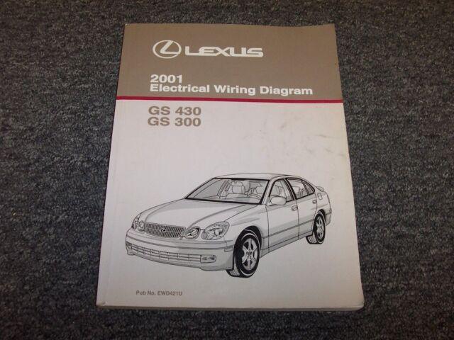 2001 Lexus Gs430  U0026 Gs300 Factory Original Electrical